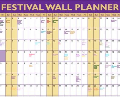 Festival Wall Planner