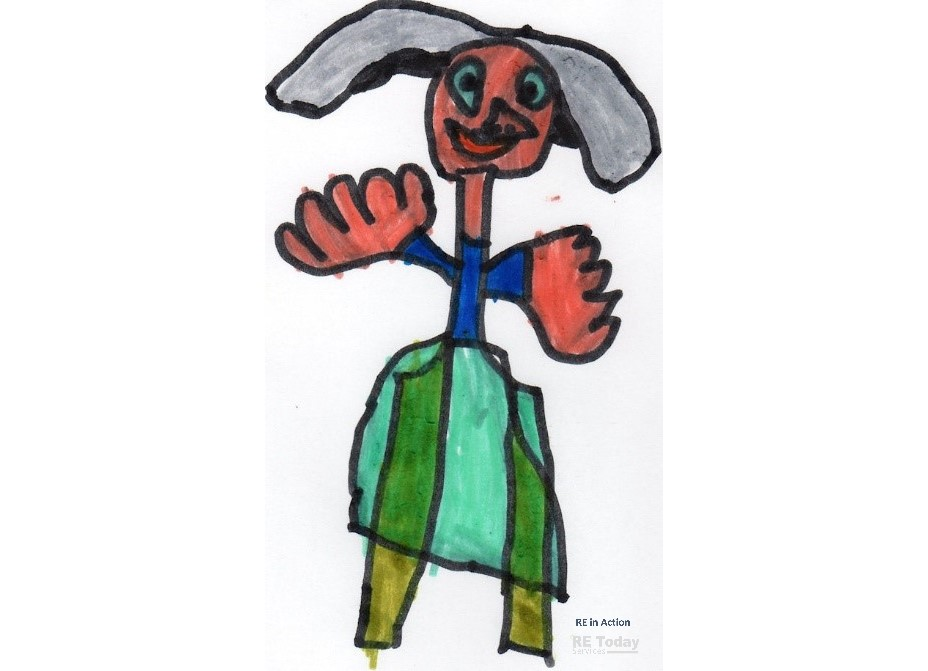 Example work: Joseph's Coat of Many Colours 2