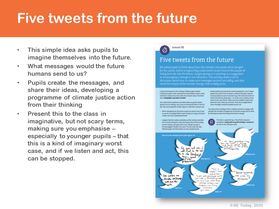 Tweets from the future presentation