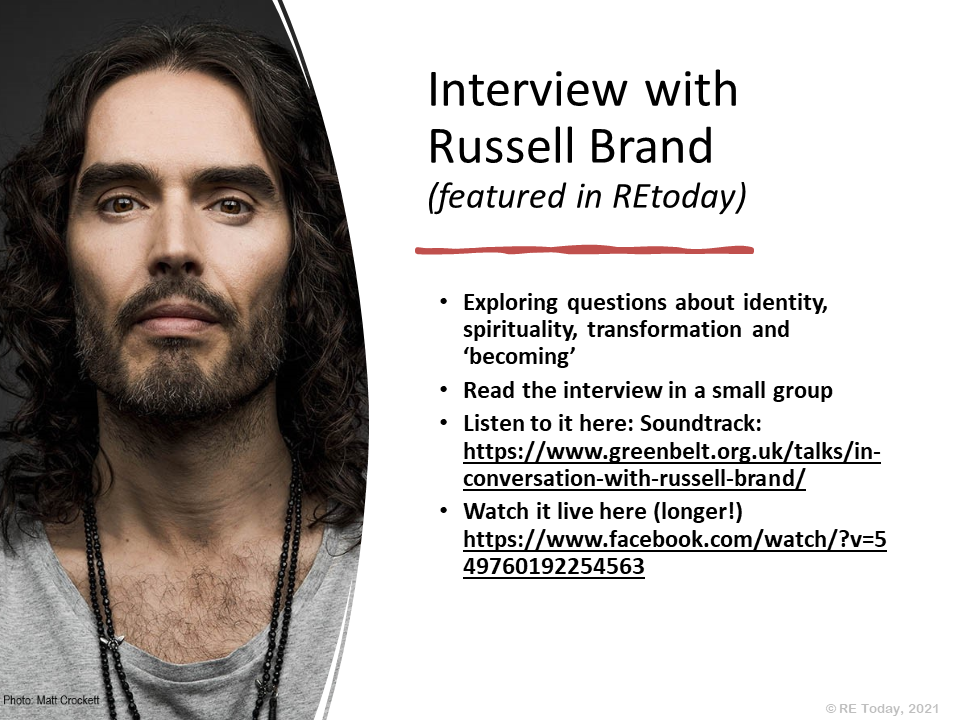 Presentation - We are all beautiful: Russell Brand interview