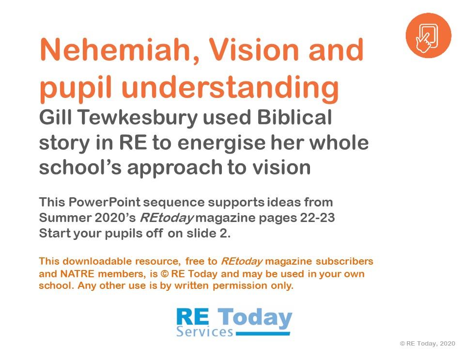 Nehemiah presentation slide 1