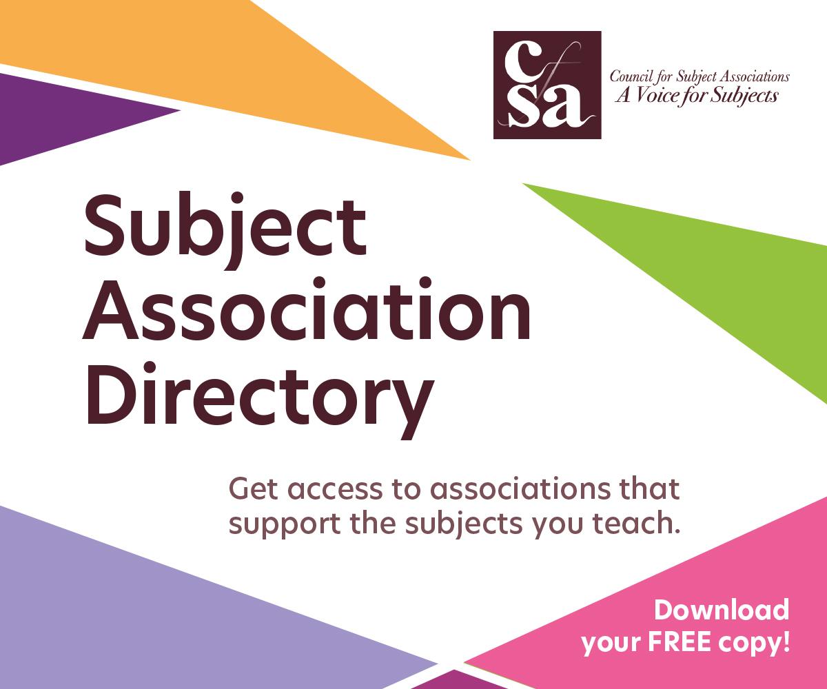 CFSA subject association directory