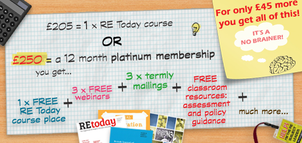 A FREE RE course place with platinum membership