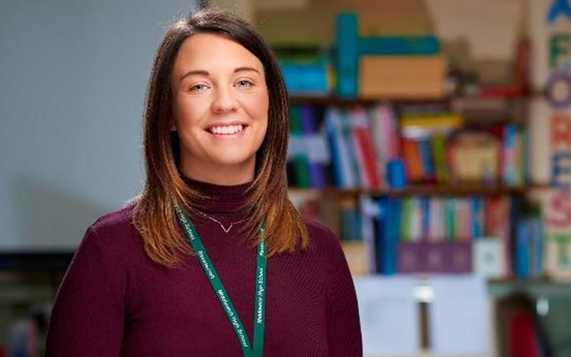 Sarah - Teacher from the beyond the ordinary campaign