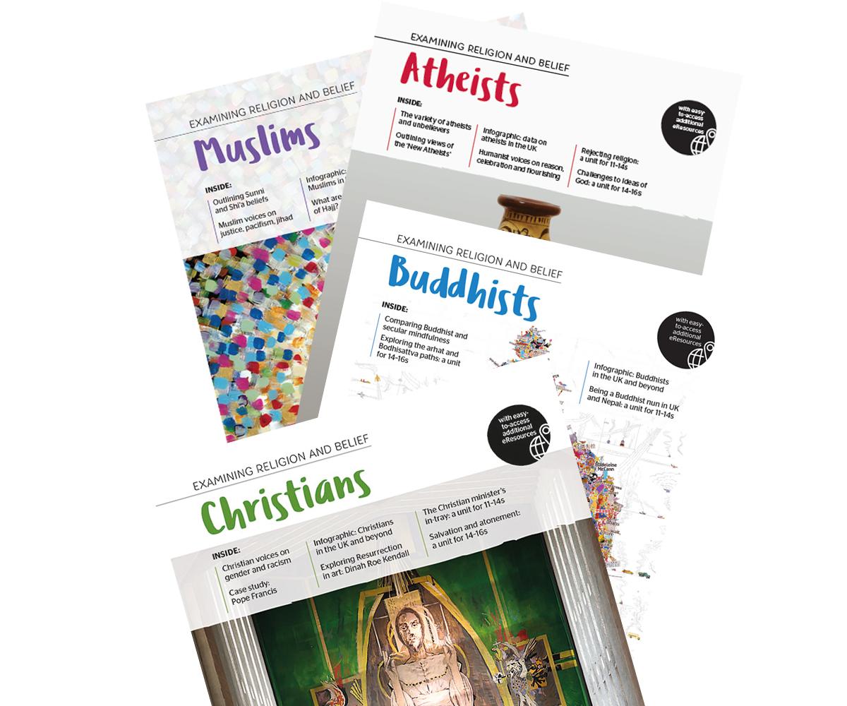 Examining Religion and Belief secondary curriculum series