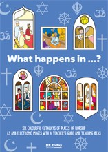 What happens in front cover