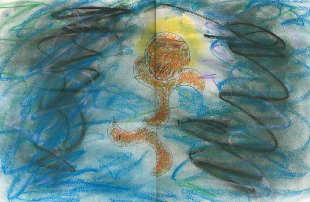 A spiritual moment art